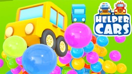 Cartoons And Videos For Kids  Helper Cars  A Playground For Cars Truck cartoon