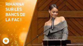 Rihanna HonorÃe Par lUniversità dHarvard