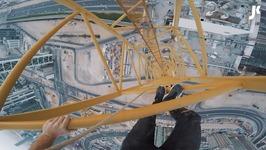 Epic Crane Climb in Dubai