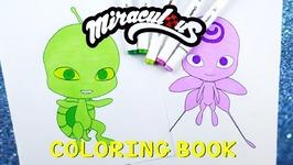 Miraculous Ladybug Coloring Book Pages Kwami Nooroo Wayzz