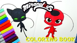 Miraculous Ladybug Coloring Book Pages Kwami Tikki Plagg Video by ...