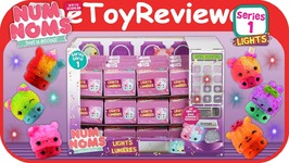 Num Noms Series 1 Lights Blind Bag Mystery Pack 36 Full Case Unboxing Toy Review