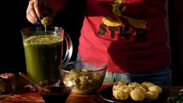 Hajmola Pani Puri Recipe  How to Make Pani Puri with Hajmola