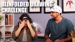 Mad Stuff With Rob - Blindfolded Drawing Challenge feat. Mallika Dua