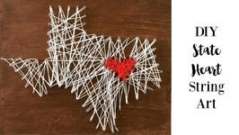 DIY State String Art