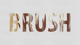 How To Make a Brush Text Effect in Adobe Photoshop CS6