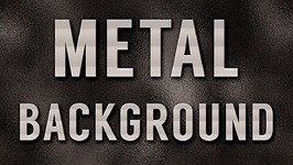Metal Background Effect in Photoshop Tutorial - Part 1