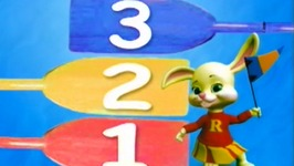 Counting Song Number 4 Rowing  - Learn Numbers Kids Songs