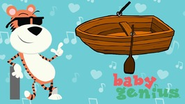 Row Row Row Your Boat- Favorite Childrens Nursery Rhymes