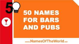 50 Names For Bars And Pubs - The Best Names For Your Company