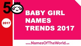 Baby girl names trends 2017 - the best baby names