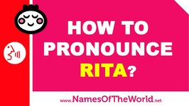 How To Pronounce Rita In Spanish? - Names Pronunciation