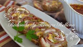 Redondo de Ternera Relleno en olla express -Redondo de ternera en olla express-Redondo relleno