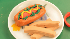 Playdoh Hotdog
