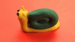 Playdoh Snail