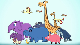 Animals Went In Two By Two  Children's Popular Nursery Rhyme