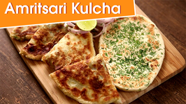 Amritsari Kulcha Recipe  Homemade Plain And Aloo Kulcha  The Bombay Chef - Varun Inamdar