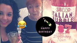 Nana's 87th BirthdayRaspberry Champagne Punch