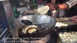 Indian Street Feed BhaturaIndian Food Videos Choley Bhature Fried Bread