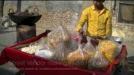 Indian Street Food How Fresh corn is made