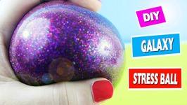 DIY GALAXY SQUISHY STRESS BAL