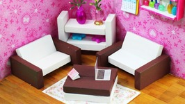 how to build miniature furniture. DIY Miniature Dollhouse Furniture How To Build