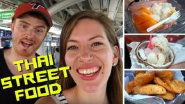 Thai Street Food Tour in Bangkok, Thailand at Chatuchak Market
