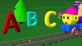 Train Alphabet song - Alphabet song - ABC song - Train song - phonics song - Nursery rhymes