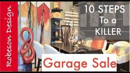 Interior Design  15,000 Garage Sale