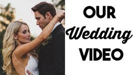 OUR WEDDING VIDEO!  Incredibly BEAUTIFUL California Wedding