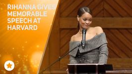 Riri Accepts Harvard's Humanitarian Of The Year Award