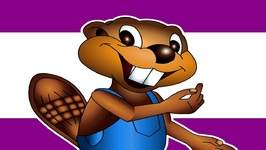 The Busy Beaver Song - Level 1 English Lesson 01 - Kids English Language Learning