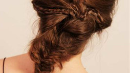 How To Do A Messy Mermaid Braid