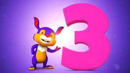 Number Three  Original Number and Counting Songs for Children  Hippy Hoppy Show
