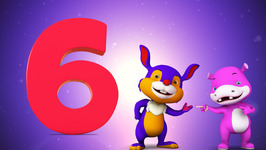 Number Six  Original Number and Counting Songs for Children  Hippy Hoppy Show