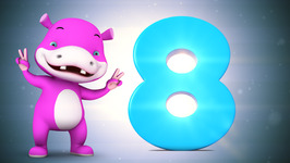 Number Eight  Original Number and Counting Songs for Children  Hippy Hoppy Show
