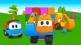 SKOOP UP, SKOOP - Leo The Truck Cartoons For Kids