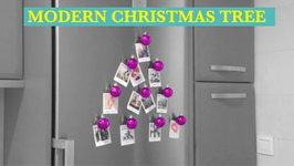 Photo Christmas Tree- Fridge Magnet