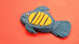 Playdoh Fish