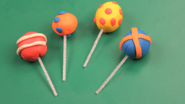 Play-Dough Lollipop - 2