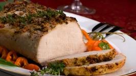Pork Loin With Applesauce