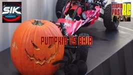 Halloween RC Baja Vs Pumpkin Smash
