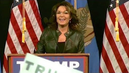 Sarah Palin Blames Sons Arrest on Obama at Trump Rally