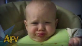 Baby Really Hates Carrots - Baby