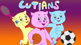Three Little Kittens Played Games at Rio - Nursery Rhymes by Cutians- The Cute Kittens