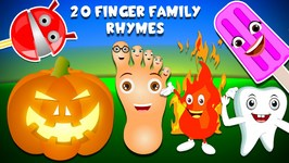 Most Popular 20 Finger Family Songs  Surprise Halloween Finger Family and many more