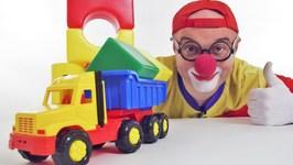 Car Clown - Truck Church  3D Shapes