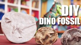 Mad Stuff With Rob - How To Make A Dino Fossil- DIY Craft