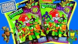 New 2016 Nickelodeon Teenage Mutant Ninja Turtles Mega Bloks