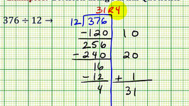 Partial Quotients - Dividing Whole Numbers
